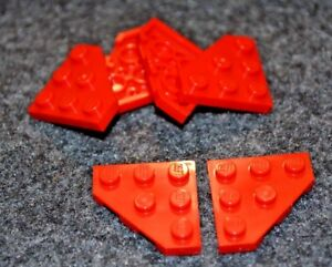 Lego Red Tile 1x6 10 pieces NEW!!!