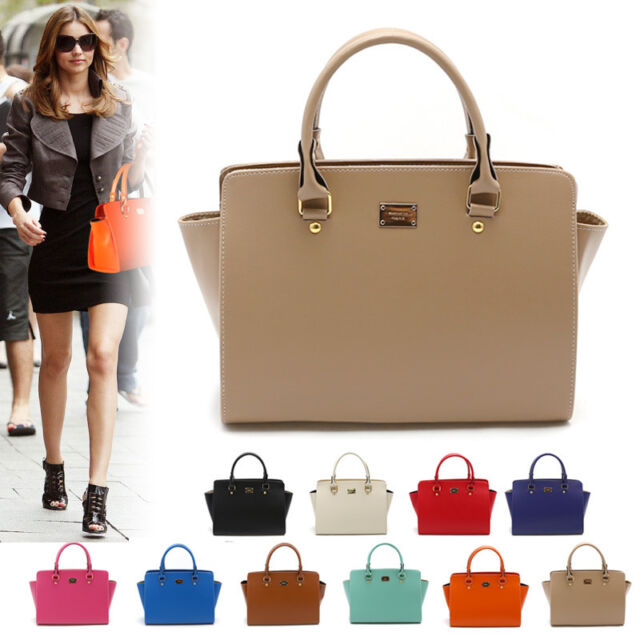 NEW Women Shoulder Bag Tote Hobo Messenger CrossBody Faux Leather Handbags Purse
