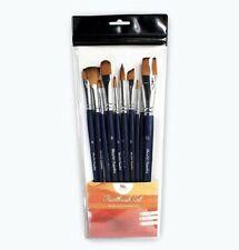15Pecs Wooden Handle Watercolor Brushes Art Paint Painting Brush Supplies Set