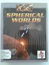 Spherical Worlds Commodore Amiga CD Damaged Box Sealed