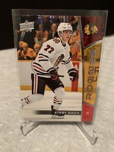 Kirby-Dach-UD-NHL-Rookie-Box-Set-2019-20-6-RC-Upper-Deck-MINT-Rookies-Blackhawks