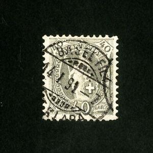 Switzerland-Stamps-84b-VF-Used-Catalog-Value-47-50