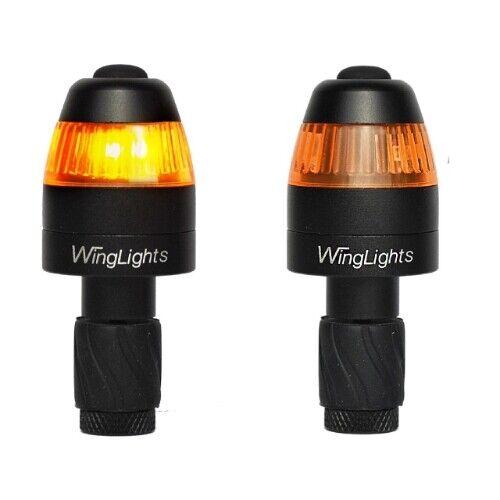 LED Lichter für Fahrräder CYCL WingLights Magnetisch v3 Schwarz