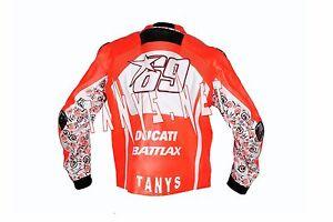 NICKEY-HAYDEN-DUCATI-2013-MOTORBIKE-MOTORCYCLE-MOTOGP-RACING-LEATHER-JACKET