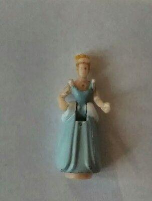 1995 Cenerentola Castello Incantato Figure Polly Pocket Figura In Abito Da Ballo-mostra Il Titolo Originale
