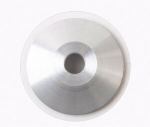 75 x 25 x 10 x 10mm Diamond Resin Cup Bowl Grinding Wheel 600G