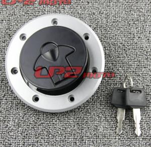 Petrol Fuel Gas Tank Cap Key For Kawasaki ZR550 90-98 ZR750 ZR-7 99-03 ZEPHYR