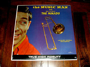 Jacques-Darieux-Orchestra-The-Music-Man-The-Mikado-NEW-SEALED-MINT-M-LP