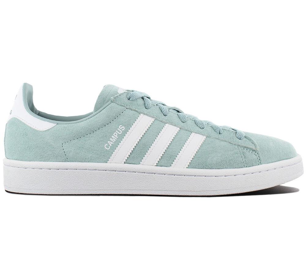 Adidas Originals Campus Leather Baskets / Chaussures Homme Vert BZ0082