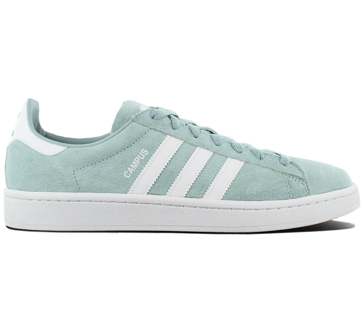 Adidas Originals Campus Leather Baskets / Chaussures Homme Vert BZ0082