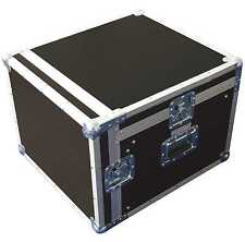 10/12 HE Profi Winkelrack Kombi-Case L-Rack DJ-Case Doppel-CD-Player & Mixercase