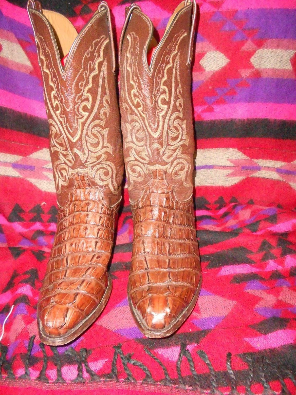 Luchese 2000 realizzati a mano Stivali Cowboy Western