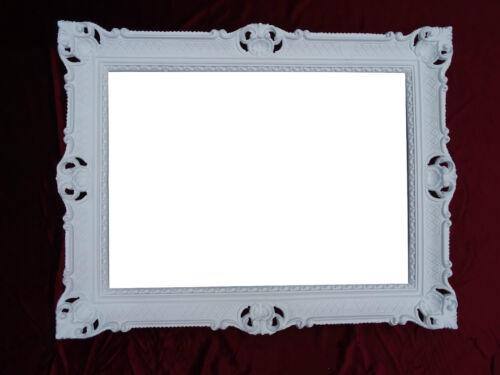 XXL Baroque Miroir Miroir Miroir Mural Argent repro Antique baroque rococo 90x70 *