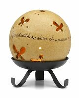 Comfort Candles Grandmother By Pavilion Tea Light Candle And Stand, 5-1/2-inch, on sale
