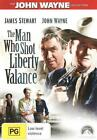 DVD Man Who Shot Liberty Valance The John Wayne Collection B&w Western R4 BNS