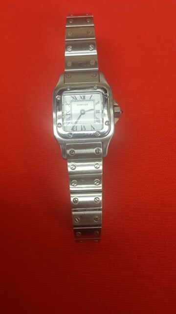 Or Watch 925 20 M Wrist 17 Ladie's Argent Swiss Cartier 050343 Plaque Paris qUpSzVGM
