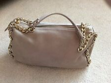 Russell & Bromley Camel Handbag with gold chain