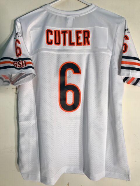 Reebok Women s Premier NFL Jersey Chicago Bears Jay Cutler White sz ... 4992faaf2