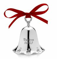 Towle Silversmiths 2013 Annual Pierced Christmas Bell Ornament 34th Edition