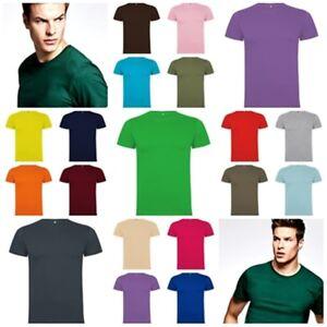 Camiseta-Hombre-manga-corta-100-Algodon-Gran-variedad-Colores-y-Tallas-Dogo