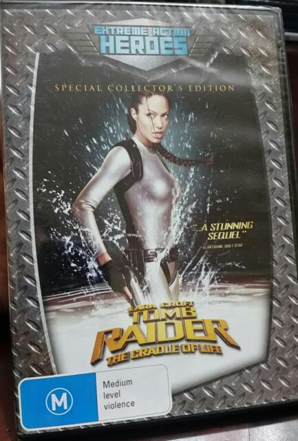 *Brand new & sealed movie* Tomb Raider 2 - The Cradle Of Life DVD Angelina Jolie