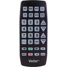 Vivitar VIVURC730 Vivitar Large Universal Remote Control