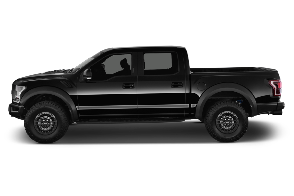 Ford F 150 Raptor side view
