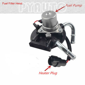 Fuel Filter Housing Primer with Heater fit for 2004-2013 Chevrolet