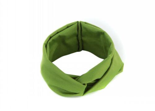 1PC Women Cotton Turban Twist Head Knot Headband Wrap Twisted Knotted Hair Band
