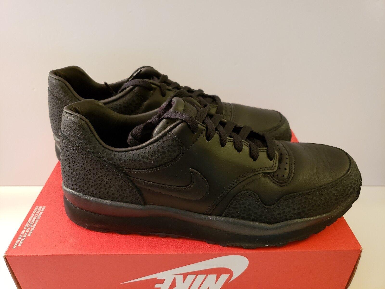 Nike air safari qs taglia 12 nero antracite ao3295-002 scarpe da corsa degli uomini