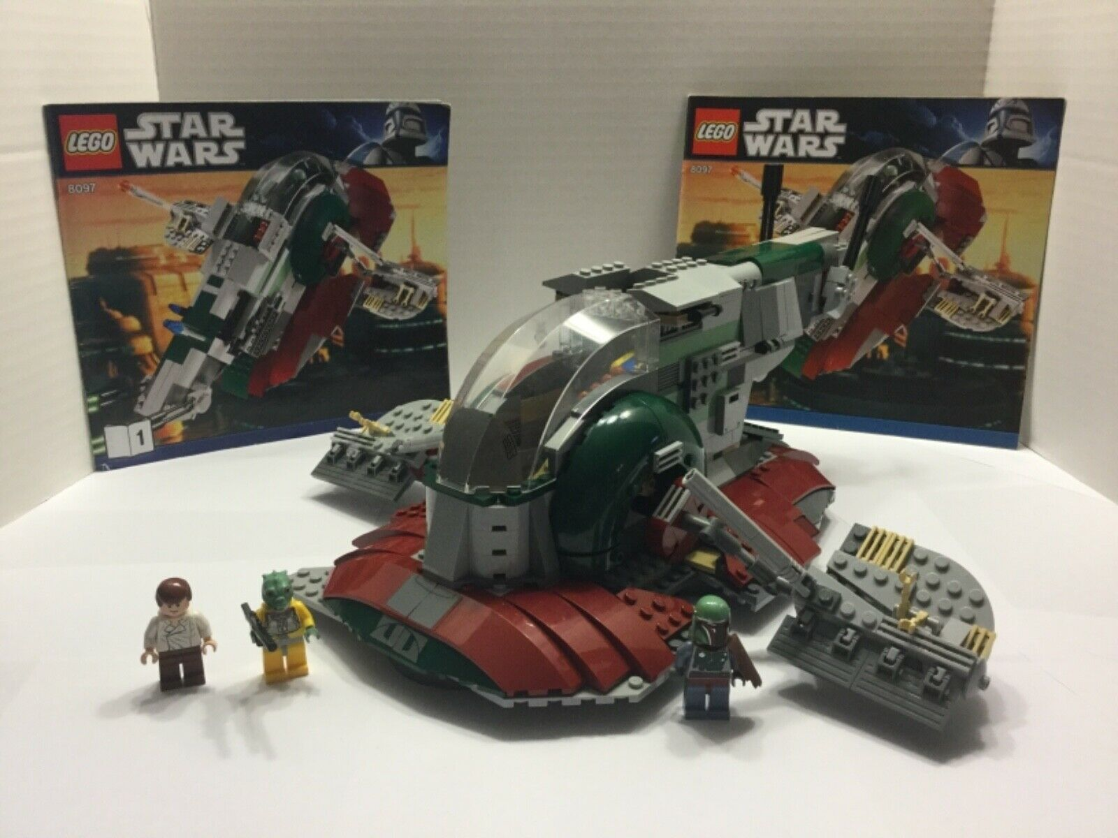Lego Star Wars Slave I  8097 100% complet avec minifigs et manuels