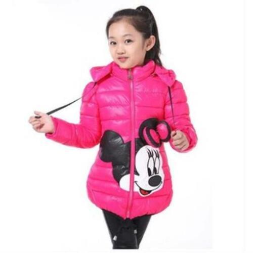 Gran tamaño invierno Minnie niñas chaqueta nieve tesoro abrigos para Niñas Ropa