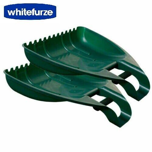 1 paire de plastique Whitefurze Pratique Leaf Grabbers Leaf Collectors Grabber Mains