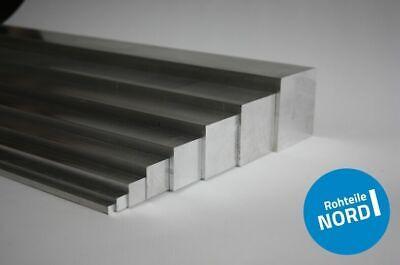 Schnittlänge 1m ALU Aluminium Vollaterial AlMgSi0,5 Vierkant Profil 20x20mm