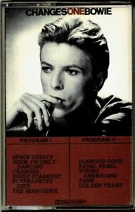 David-Bowie-Changesonebowie-RARE-OOP-ORIG-Canada-RCA-CPK1-1732-Cassette-Mint