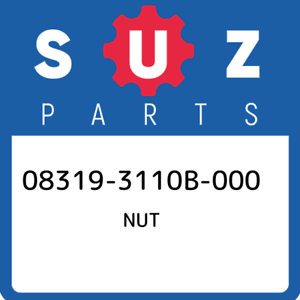 08319-3110B-000-Suzuki-Nut-083193110B000-New-Genuine-OEM-Part