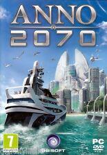 Anno 2070 PC Simulation Brand New Sealed Ship simulator game.