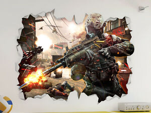 Call-of-Duty-COD-Wall-Vinyl-Poster-Sticker-Bedroom-Game-Room-Mural-Man-Cave