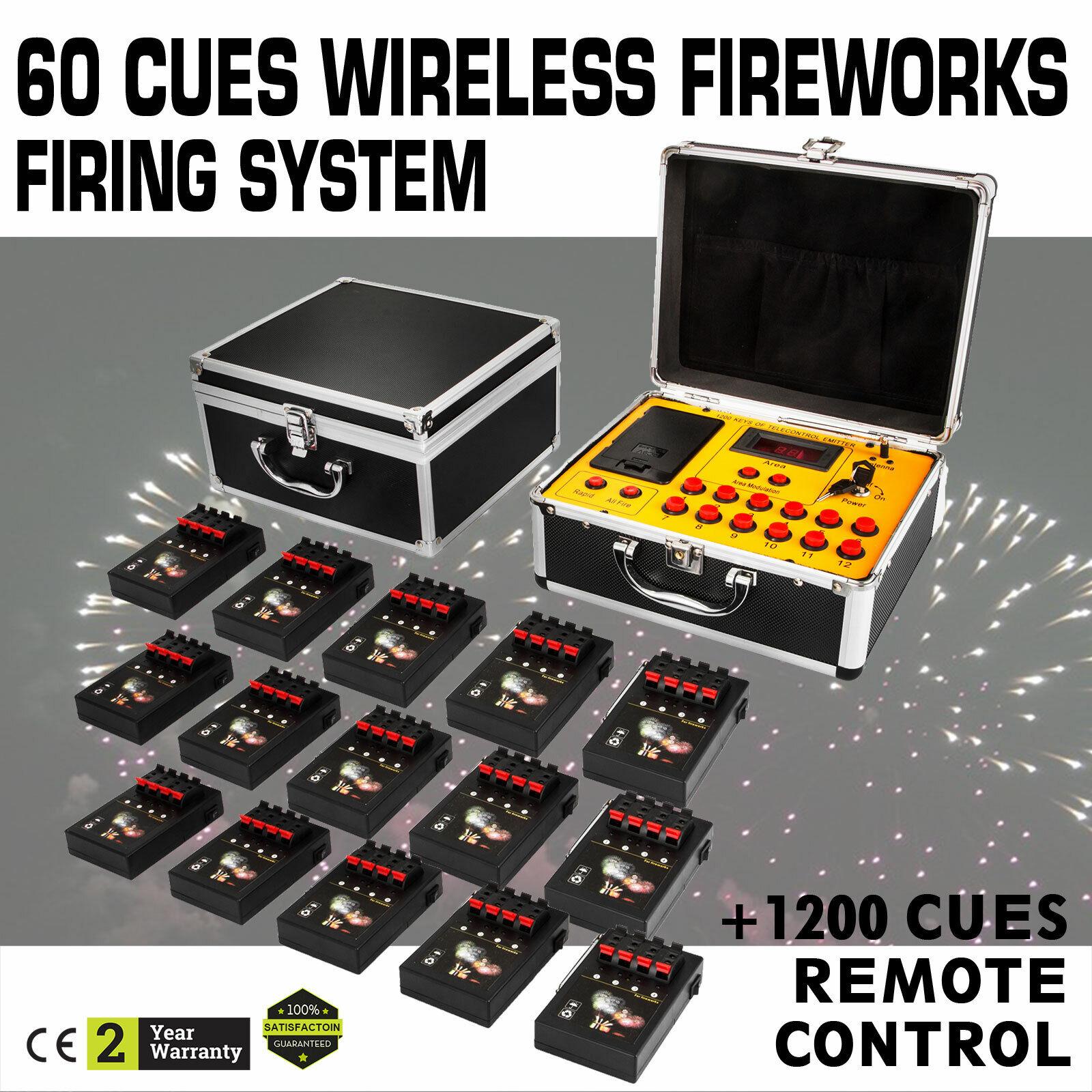 60CH Fireworks Firing Sistema Fuoco D Artificio  Palcoscenico Festa