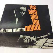 Lionel Hampton 'The High and The Mighty' VG/VG Classic Jazz Vinyl LP 12""
