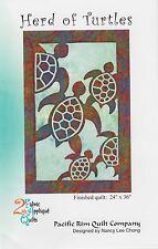Herd of Turtles Quilt Pattern, Hawaiian Appliqué, Pacific Rim Quilting