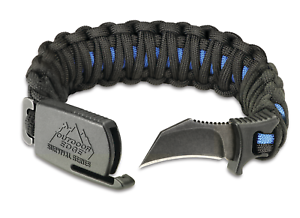 Image Is Loading Outdoor Edge Para Claw Paracord Survival Bracelet Amp