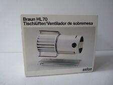 Braun HL70 Tischventilator Ventilator Lüfter Fan Tischlüfter no 4550 OVP wie neu