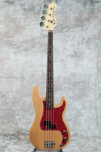 New Fender Tomomi Precision Bass Natural Electric Bass Guitar From Japan Ebay