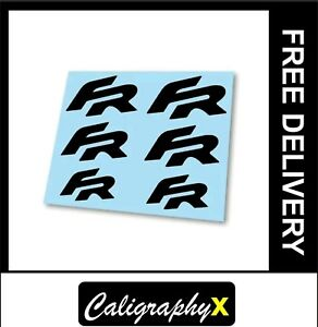 x6 Honda Type R Logo Badge Hi Temp Brake Caliper Stickers Decals FK8 FK3
