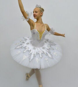 Details about Professional Russian Nutcracker Snow Queen Ballet Tutu  Costume Small Stocked!