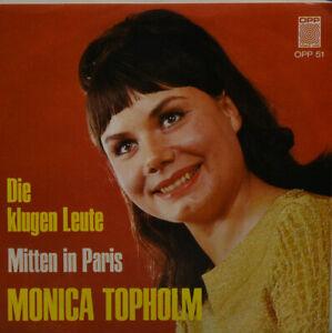 """MONICA TOPHOLM - DIE KLUGEN LEUTE- MITTEN IN PARIS- OPP 51 - 7"""" (K977) - Berlin, Deutschland - MONICA TOPHOLM - DIE KLUGEN LEUTE- MITTEN IN PARIS- OPP 51 - 7"""" (K977) - Berlin, Deutschland"""