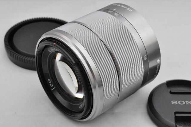 Silver SEL1855 18-55mm F/3.5-5.6 OSS Zoom Lens for Sony E Mount Cameras