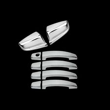FOR CHEVY HHR 06-11 4DRS handle w//o PSGKH+Mirror 2pc CHROME COVERS