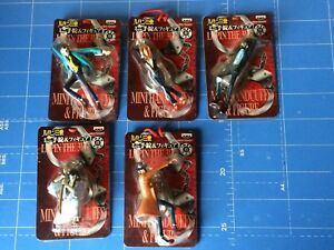 Banpresto-Lupin-The-3rd-Mini-Handcuffs-amp-Figure-All-5-items-complete-Set